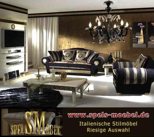 luxus m bel sessel polsterm bel wohnzimmer royale moonlight italienische klassische stilm bel in. Black Bedroom Furniture Sets. Home Design Ideas