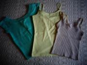 Mädchenbekleidung 3 Tops