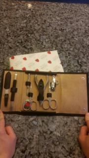 Manicure Drei Schwerter