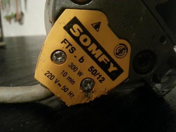 Markisenmotor Rolladenmotor Somfy Fts B 50 12 In Gro
