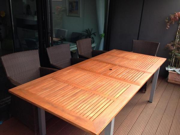 zeigt mir euer wohnzimmer:massiver wohnzimmer holztisch kaufen : Massiver Holztisch für Garten  ~ zeigt mir euer wohnzimmer