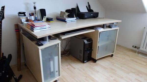 Massiver schreibtisch erle in recklinghausen b rom bel for Schreibtisch quoka