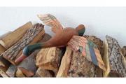 Massivholz-Ente aus