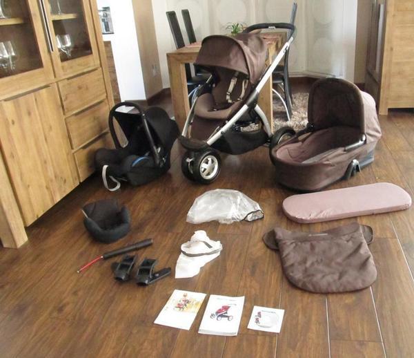 maxi cosi mura kinderwagen in braun babytrage babyschi. Black Bedroom Furniture Sets. Home Design Ideas