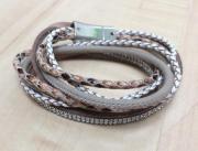Mehrfacharmband mit Magnetverschluss