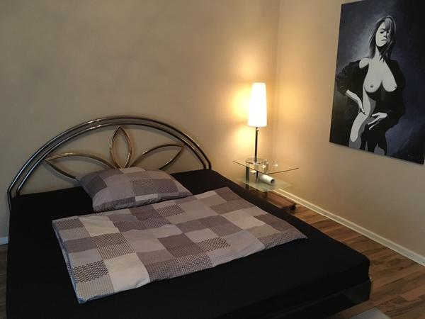 metallbett 180x200 cm in berlin betten kaufen und verkaufen ber private kleinanzeigen. Black Bedroom Furniture Sets. Home Design Ideas