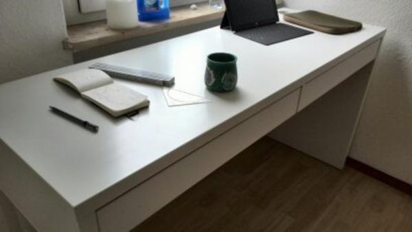 Micke schreibtisch neu und gebraucht kaufen bei for Computertisch 1m breit