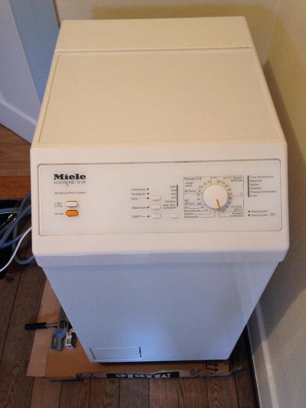 miele waschmaschine novotronic w149 in stuttgart waschmaschinen kaufen und verkaufen ber. Black Bedroom Furniture Sets. Home Design Ideas