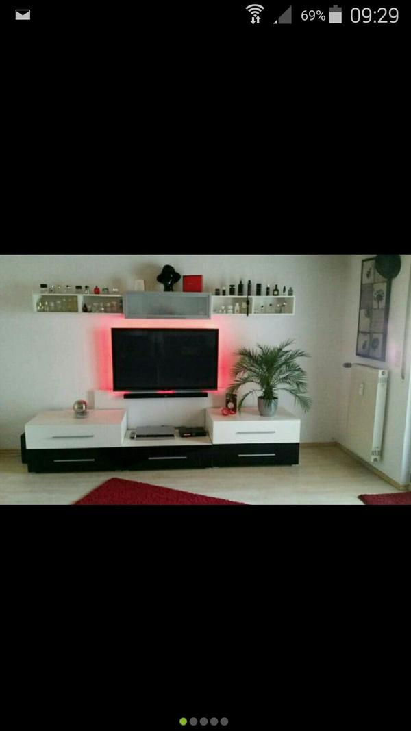 Schrankwand bestehend neu und gebraucht kaufen bei for Schrankwand ohne tv