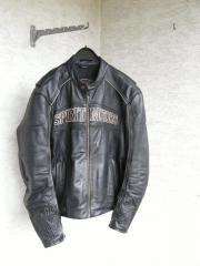 Motorradbekleidung Herren Lederjacke