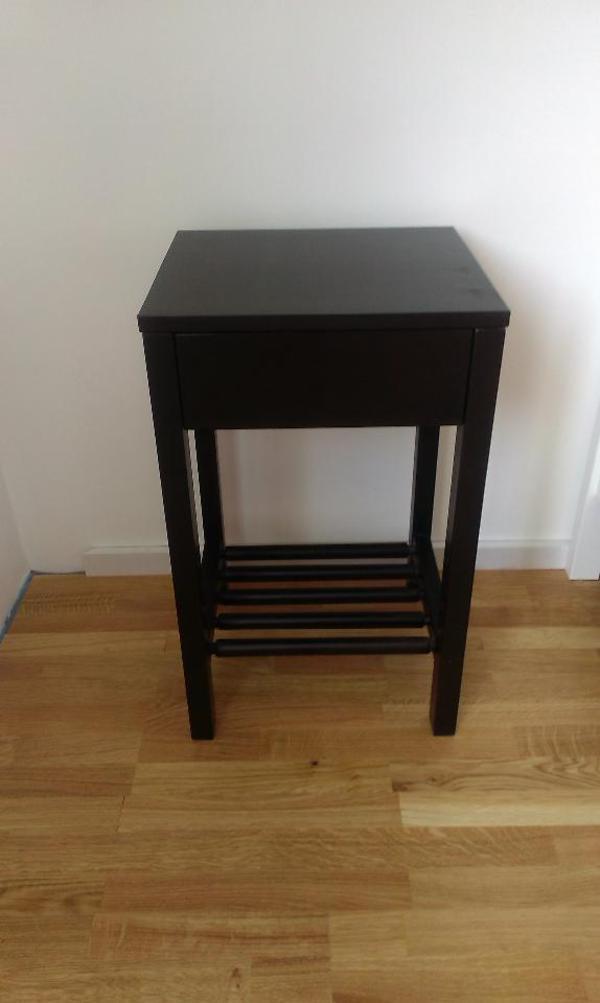 schwarzer nachttisch kleinanzeigen familie haus garten. Black Bedroom Furniture Sets. Home Design Ideas