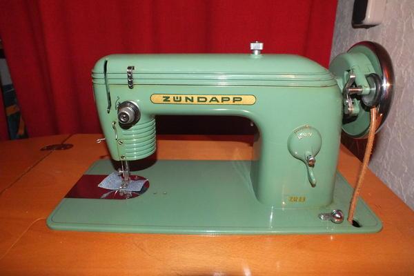 n hmaschine zuendapp zr18 sammler liebhaber st ck 1954 in. Black Bedroom Furniture Sets. Home Design Ideas