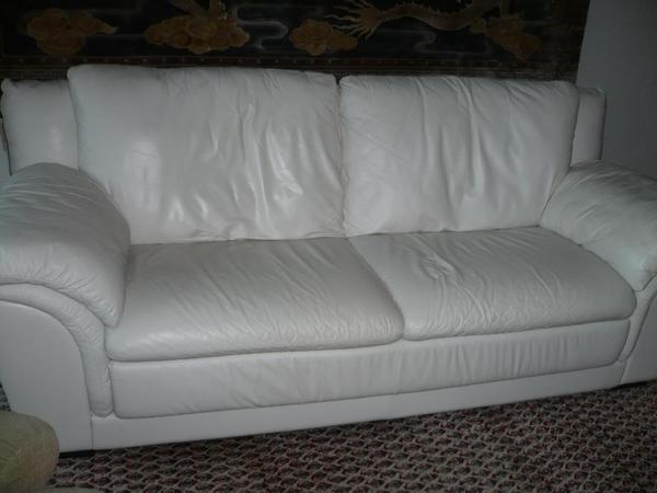 Natuzzi Echt Ledersofa In Creme Weiss In Burscheid Polster Sessel Couch Kaufen Und Verkaufen