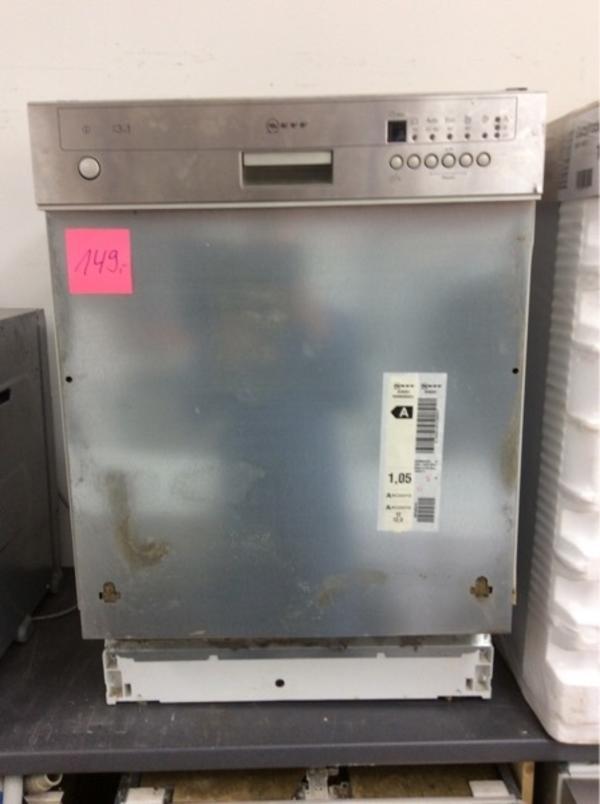 Neff einbau spulmaschine eek a in mannheim for Neff spülmaschine