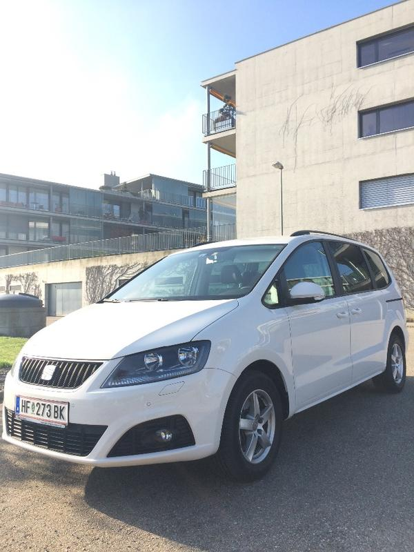 neuwertiger seat alhambra 2 0 tdi 7 sitzer in bestzustand. Black Bedroom Furniture Sets. Home Design Ideas