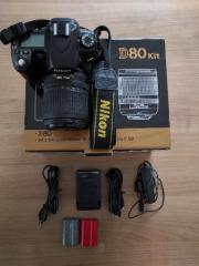 Nikon D80 + AF-