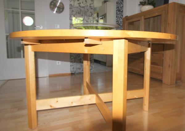 Ikea Vitrine Norden ~ NORDEN Tisch massive Birke in Wolfratshausen  IKEAMöbel kaufen und
