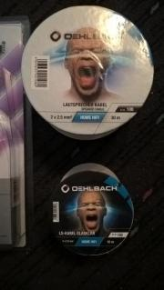 Oehlbach Lautsprecherabel 2x2,