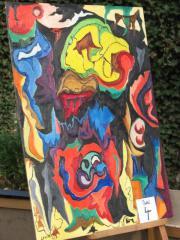 Öl Gemälde abstrackte