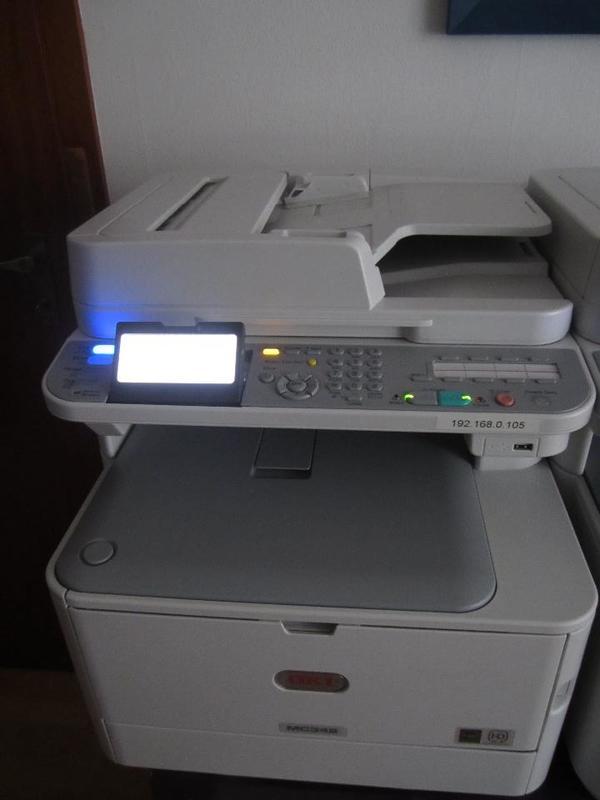oki mc 342dn multifunktionsger t in mannheim laserdrucker kaufen und verkaufen ber private. Black Bedroom Furniture Sets. Home Design Ideas