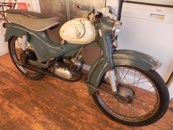 oldtimer moped rex como moped 26 baujahr 1960 50ccm 3. Black Bedroom Furniture Sets. Home Design Ideas