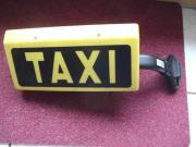 Original Taxi Schild