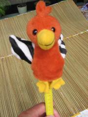 Papagei; Fingerfigur; Kuscheltier