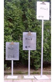 Parkplatzschild/ Preisständer/ Preisschildhalter /