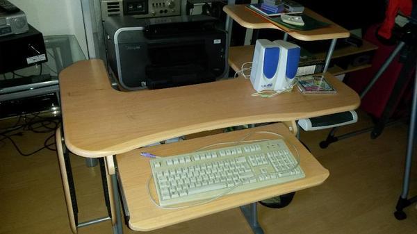 pc tisch in lauterach computerm bel kaufen und verkaufen ber private kleinanzeigen. Black Bedroom Furniture Sets. Home Design Ideas