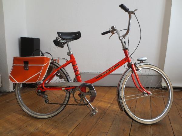 peugeot fahrrad vintage 70er modell nouveau style stadtrad in karlsruhe sonstige fahrr der. Black Bedroom Furniture Sets. Home Design Ideas
