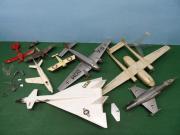 Plastic Modellflugzeuge Bastelschrott