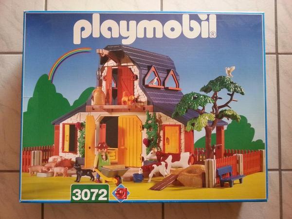 playmobil® 3072  bauernhof guter gepflegter zustand mit