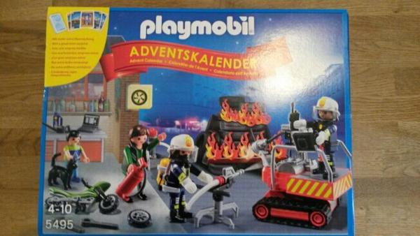 playmobil adventskalender feuerwehr in b rstadt. Black Bedroom Furniture Sets. Home Design Ideas