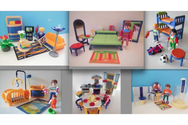 playmobil einrichtung f r haus 3965 in m nchen kaufen und verkaufen ber private kleinanzeigen. Black Bedroom Furniture Sets. Home Design Ideas