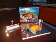 Playmobil Straßenmeisterei mit