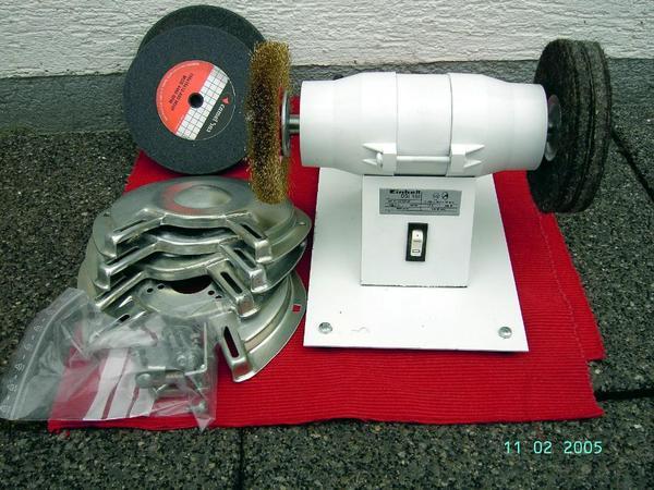 poliermaschine polierbock polierger t schleifbock in. Black Bedroom Furniture Sets. Home Design Ideas