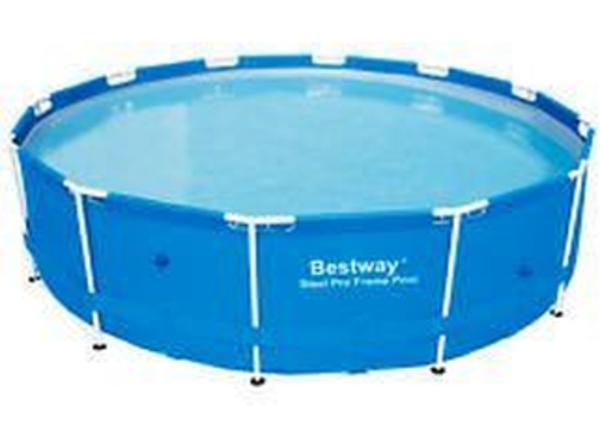 pool schwimmbad pool rund pool set 366 x 122 cm in kuppenheim tauchen schwimmen. Black Bedroom Furniture Sets. Home Design Ideas
