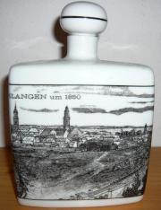 Porzellan-Flasche m.