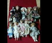 Porzellan- Puppen