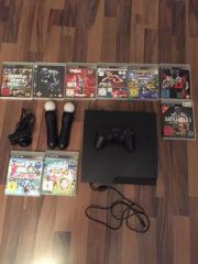 PS3 mit Move Set Verkaufe hier meine PS3 mit Move Set 9 Spielen. PS3 funktioniert einwandfrei PS3 Controller funktioniert nur beim Laden. Mit freundlichen ... 130,- D-68239Mannheim Seckenheim Heute, 13:26 Uhr, Mannheim Seckenheim - PS3 mit Move Set Verkaufe hier meine PS3 mit Move Set 9 Spielen. PS3 funktioniert einwandfrei PS3 Controller funktioniert nur beim Laden. Mit freundlichen