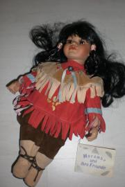 Puppen aus Porzellan /