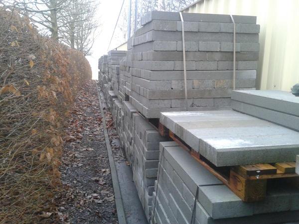 randsteine rabatten 100x20x8 cm beton in bad wurzach. Black Bedroom Furniture Sets. Home Design Ideas