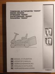 Rasentraktor / Aufsitzmäher, Benzin