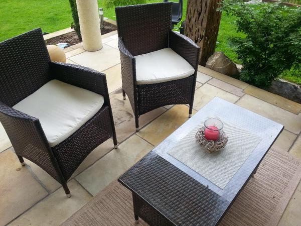 rattan gartenm bel in r this kaufen und verkaufen ber private kleinanzeigen. Black Bedroom Furniture Sets. Home Design Ideas