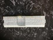 Rechenschieber . 14 cm .