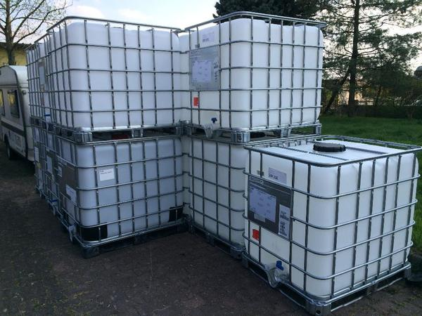 schreberg rten wochenendh user regenwasser tank container 1000 liter g nstig ibc wasserfass. Black Bedroom Furniture Sets. Home Design Ideas