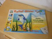 Relief-Bild Delphin