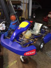 Rennkart Honda-Motor