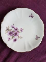 RHEINPFALZ - Porzellanteller - Blumen