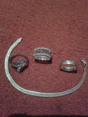 Ringe Silber